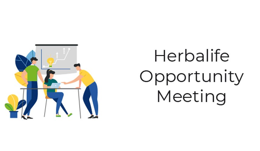 Herbalife Opportunity Meeting